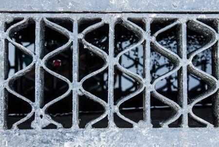 desague: Rejilla de drenaje