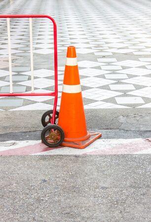 traffic cone: Road cone, Traffic cone, Road sign