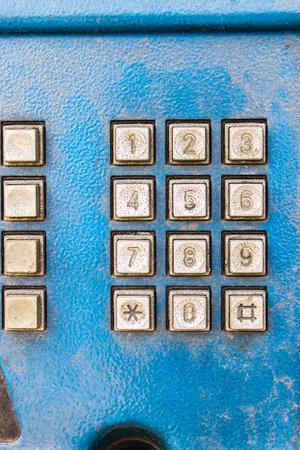 keypad: phone keypad Stock Photo