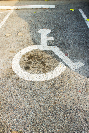 disabled parking sign: Disabled parking sign, handicap parking