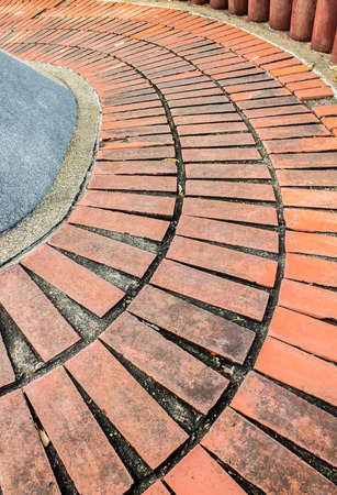 brick floor: Ramp Down, brick floor