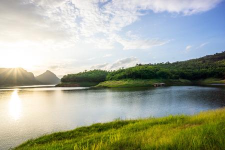 sight seeing: sight seeing of Mae suay dam,Chiangrai,Thailand