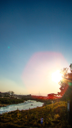 rivulet: the sun