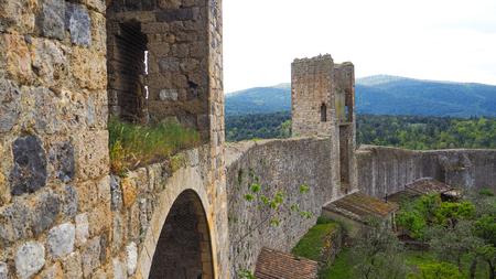 Historic wall of Monteriggioni