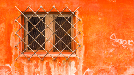 오렌지 기름으로 창과 강철 보호 스톡 콘텐츠