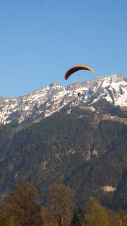 Paragliding at Interlaken Park