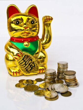 monies: lucky money 3 Stock Photo