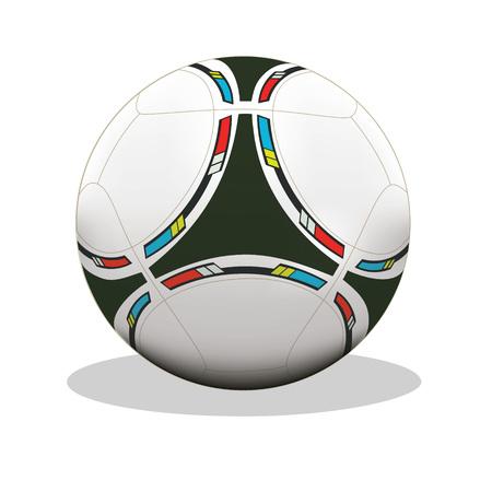 Football, soccer ball, vector, icon