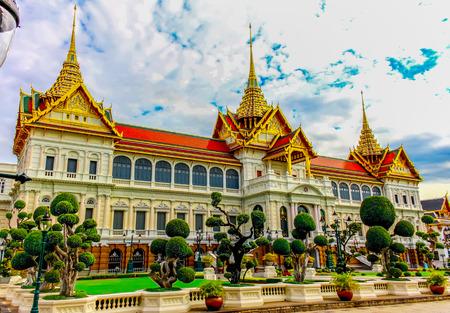 Thailand, Bangkok, Wat Phra Kaew; The royal grand palace photo