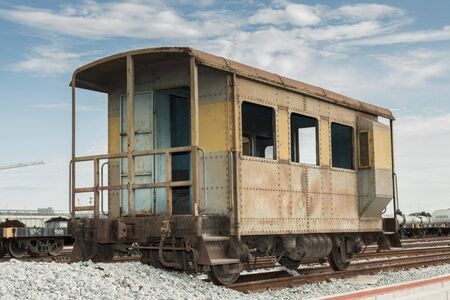 loco: Old bogie train