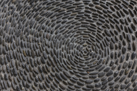 Background texture of stone pavement