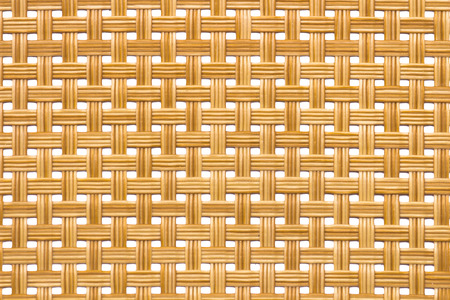 Rattan texture, detail handcraft bamboo weaving texture background. include clipping path