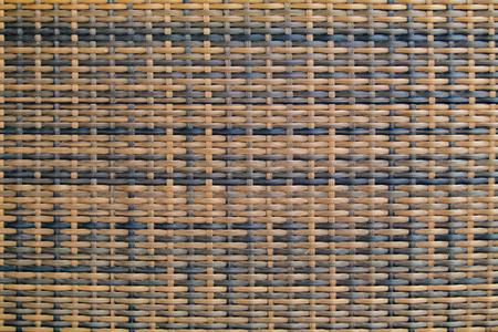 Rattan texture, detail handcraft bamboo weaving texture background. woven pattern.