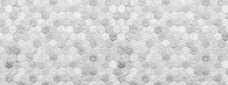 white cleam Honeycomb patterned wood panels in hexagonal shape, wood, blackground, abstract brown pattern background Reklamní fotografie