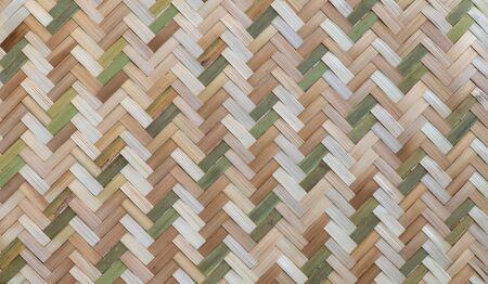 Rattan texture, detail handcraft bamboo weaving texture background. woven pattern.weave