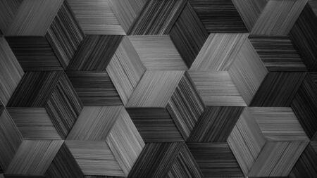 black grey Rattan texture, detail handcraft bamboo weaving texture background. woven pattern.weave