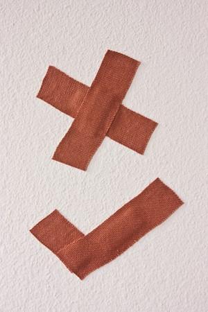 plaster,Isolated photo