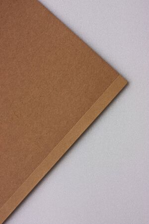 Brown book on white background  Stock Photo - 7453698