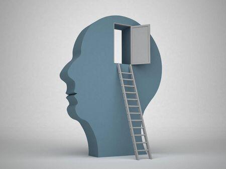 3d Head concept photo