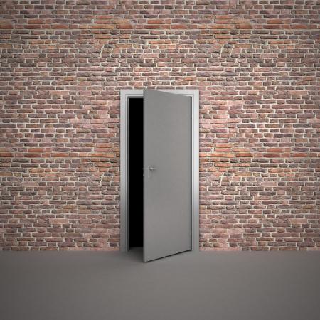 exit door: door