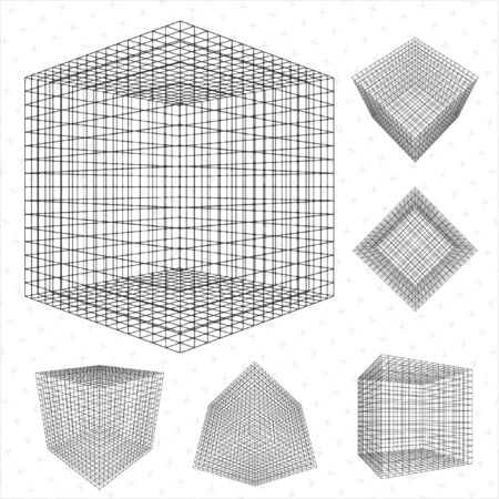 wireframe Stock Vector - 23054887