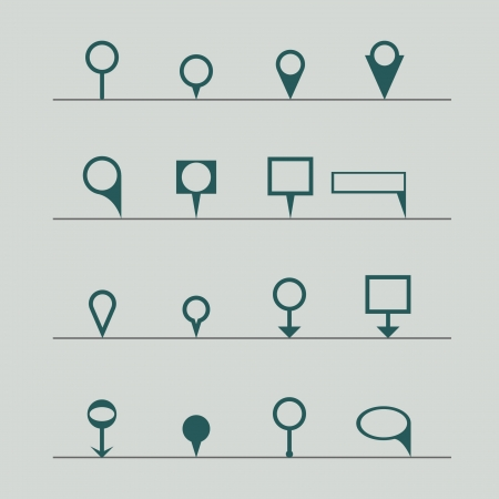 pins icon Vector