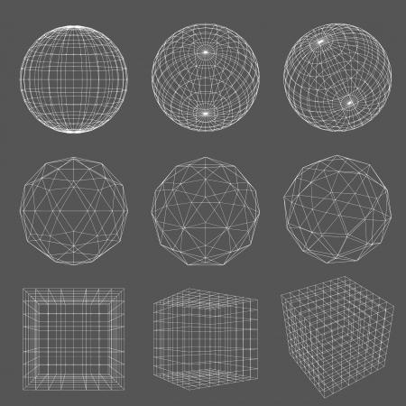 geometria: Wireframe Geometr�a