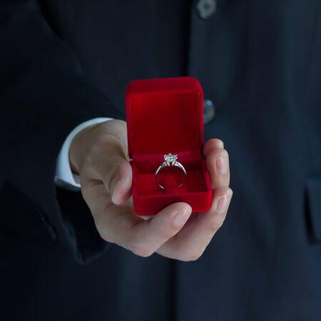 propose: Wedding ring