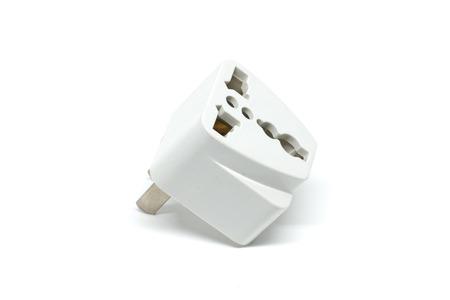 adapter: Adapter plug Stock Photo