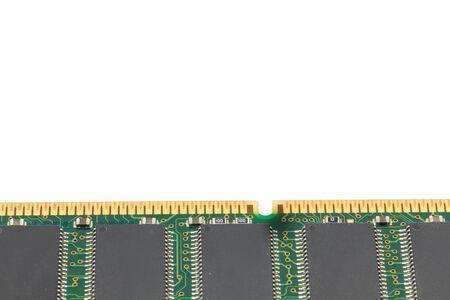 megabyte: memory ram isolated White background