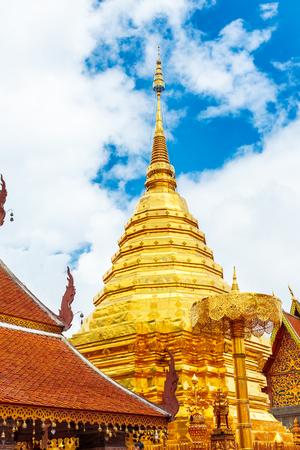 Doi Suthep Temple in Chiang Mai, Thailand Stock Photo