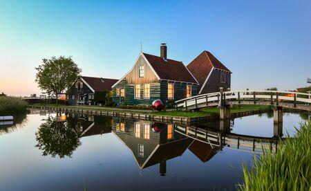 Traditionelle holländische Dorf