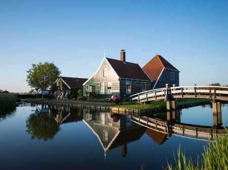 dutch: Traditional Dutch village Editorial