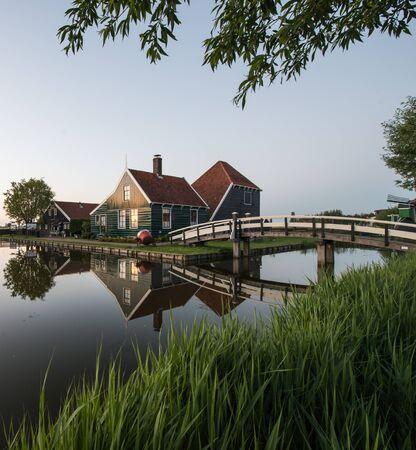 dutch: Traditional Dutch village Stock Photo
