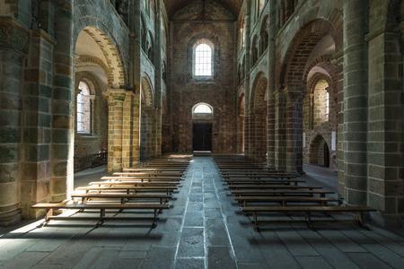 mont saint michel: Mont saint michel church