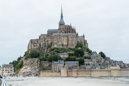 mont: Mont Saint Michel, France