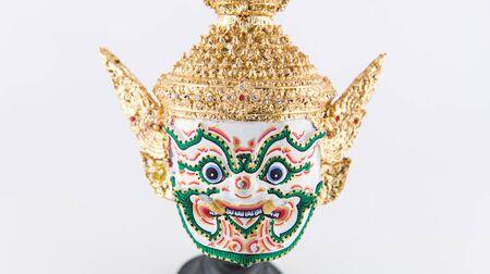Khon , traditional Thai actors giant mask