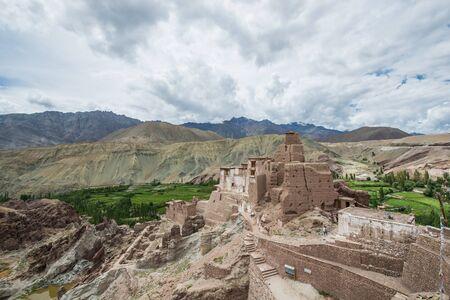 Old monastery on the mountain, Ladakh, India