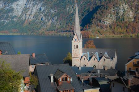 Autumn view Of Hallstatt, Hallstatt, Austria