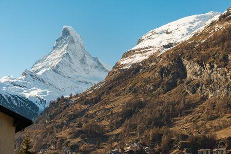 Matterhorn Peak, Zermatt, Switzerland