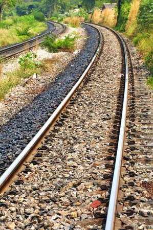 onward: Close up the railway onward  on the way.