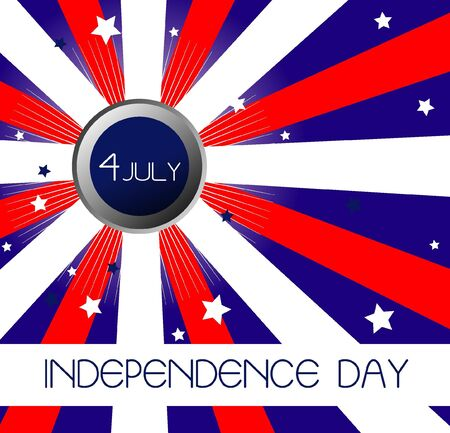Independence Day- 4 of July - background Vector