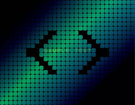 Abstract digital background Stock Vector - 10050439