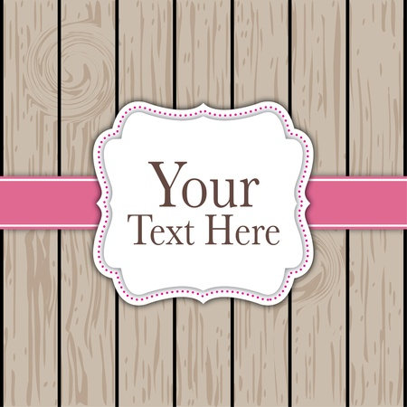 vintage card design Stock Vector - 10050427