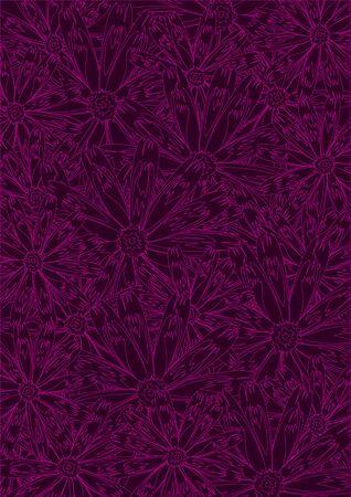 Seamless wallpaper pattern, vector Stock Vector - 11885488