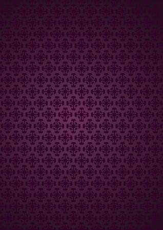 Vector illustration. Seamless pattern. Ilustração