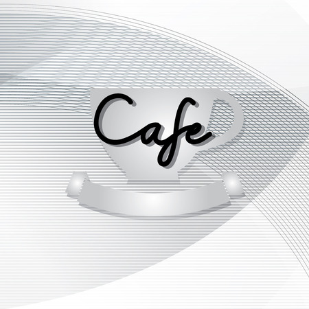 typo: Typo vector with word Cafe Illustration