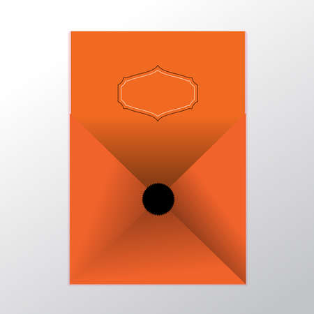 eps 10: envelope vector background, Eps 10 Illustration