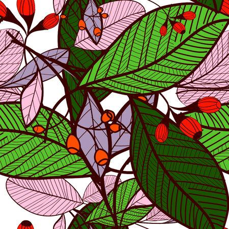 Flower pattern seamless, Eps 10 Vector