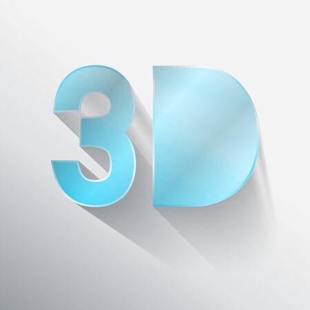 typo: 3D typo vector,Eps 10